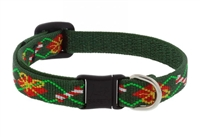 "Retired Lupine 1/2"" Santa's Treats Cat Safety Collar"