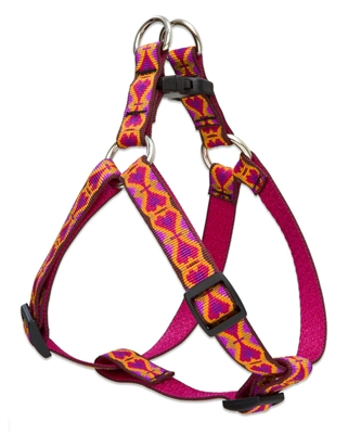 "Lupine 3/4"" Heart 2 Heart 15-21"" Step-in Harness"