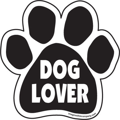 Dog Lover Paw Magnet