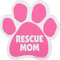 Rescue Mom Paw Magnet