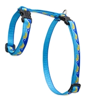 "Retired Lupine 1/2"" Just Ducky 9-14"" H-Style Cat Harness"