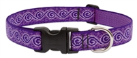 "LupinePet Originals 1"" Jelly Roll 12-20"" Adjustable Collar for Medium and Larger Dogs"