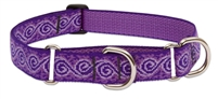 "LupinePet 1"" Jelly Roll 15-22"" Martingale Training Collar"