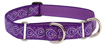 "Lupine 1"" Jelly Roll 19-27"" Martingale Training Collar"