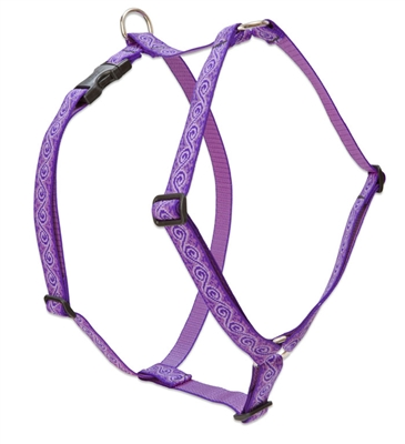 "Lupine 1"" Jelly Roll 36-44"" Roman Harness"