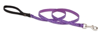 "Lupine 1/2"" Jelly Roll 4' Padded Handle Leash"