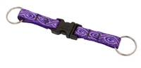 "Lupine 1/2"" Jelly Roll Buckle Keychain"