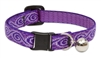 "Lupine 1/2"" Jelly Roll Cat Safety Collar with Bell"