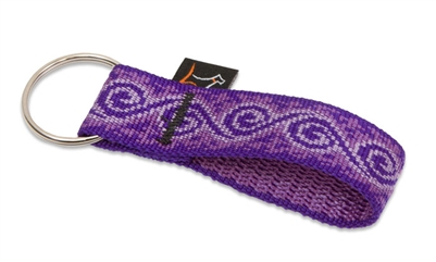 Lupine Jelly Roll Key Chain - 1""
