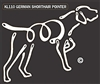 K-Lines German Shorthair Pointer - Window Decal