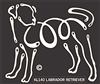 K-Lines Labrador Retriever - Window Decal