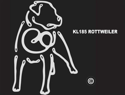 K-Lines Rottweiler - Window Decal