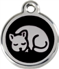 Red Dingo Medium Cat Tag