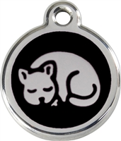 Red Dingo Small Cat Tag