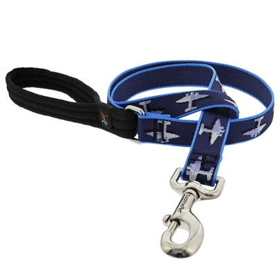 "Lupine 1"" Aero 4' Long Padded Handle Leash"