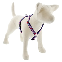 "LupinePet 3/4"" America 14-24"" Roman Harness - Medium Dog MicroBatch"