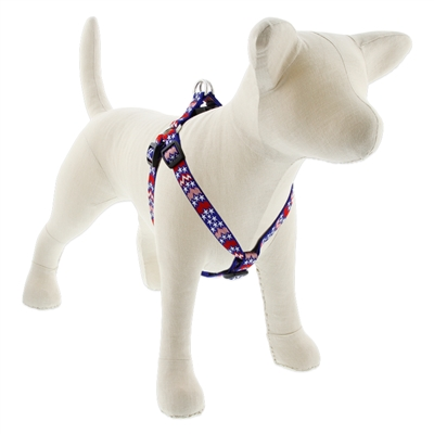 "Lupine 3/4"" America 15-21"" Step-in Harness - Medium Dog LIMITED EDITION"