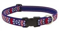 "Retired Lupine 1"" America 16-28"" Adjustable Collar - Large Dog"