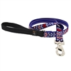 "Lupine 3/4"" America 4' Padded Handle Leash - Medium Dog LIMITED EDITION"