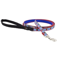 "Lupine 1/2"" Apple Pie 4' Padded Handle Leash Ships in June 2021"