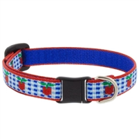 "Lupine 1/2"" Apple Pie Cat Safety Collar Ships in July 2021"