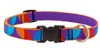 "LupinePet 3/4"" Aurora 13-22"" Adjustable Collar - Medium Dog MicroBatch"