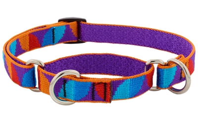 "Retired  Lupine 3/4"" Aurora 14-20"" Martingale Training Collar - MicroBatch"