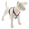 "LupinePet 3/4"" Aurora 20-32"" Roman Harness - Medium Dog"