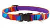 "LupinePet 3/4"" Aurora 9-14"" Adjustable Collar - Medium Dog MicroBatch"