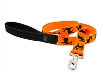 "Retired Lupine 1"" Big Game 4' Long Padded Handle Leash - Large Dog"