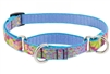 "Lupine 3/4"" Cottage Garden 10-14"" Martingale Training Collar Ships in April 2021"