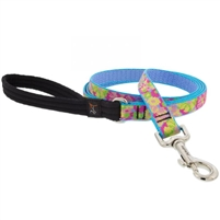 "Lupine 3/4"" Cottage Garden 4' Padded Handle Leash"
