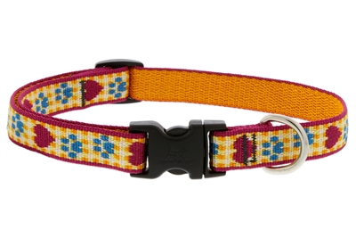 "Lupine Country Paws 13-22"" Adjustable Collar - Medium Dog LIMITED EDITION"