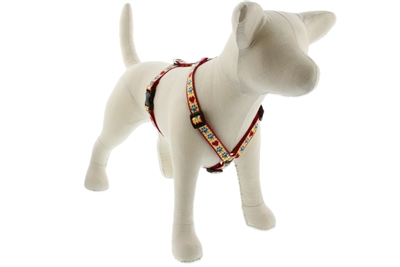 "Retired Lupine 3/4"" Country Paws 14-24"" Roman Harness - Medium Dog"