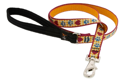 Lupine Country Paws 6' Padded Handle Leash - Medium Dog LIMITED EDITION