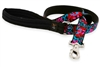 "Retired Lupine 1"" Elephant Walk 6' Long Padded Handle Leash - Large Dog"