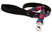 Lupine Elephant Walk 6' Long Padded Handle Leash - Large Dog LIMITED EDITION
