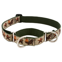 "Retired LupinePet 1"" Farm Day 15-22"" Martingale Training Collar - Large Dog"