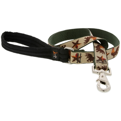 "Retired Lupine 1"" Farm Day 4' Long Padded Handle Leash"
