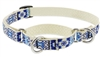"Retired Lupine 3/4"" Fair Isle 10-14"" Martingale Training Collar"