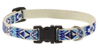"Retired Lupine 1/2"" Fair Isle 10-16"" Adjustable Collar"