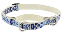 "Retired Lupine 3/4"" Fair Isle 14-20"" Martingale Training Collar"