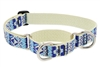"LupinePet Fair Isle 15-22"" Martingale Training Collar - Large Dog MicroBatch"