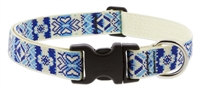 "Lupine Fair Isle 16-28"" Adjustable Collar - Large Dog LIMITED EDITION"