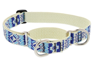 "LupinePet Fair Isle 19-27"" Martingale Training Collar - Large Dog MicroBatch"