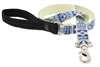 "Retired Lupine 1"" Fair Isle 4' Long Padded Handle Leash"