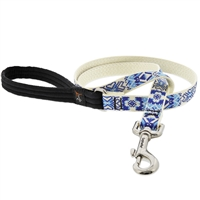 "Retired Lupine 3/4"" Fair Isle 6' Padded Handle Leash"