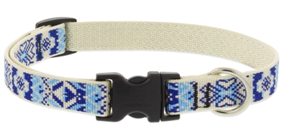 "Retired Lupine 3/4"" Fair Isle 9-14"" Adjustable Collar"
