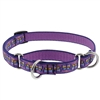 "Lupine 3/4"" Flutterby 10-14"" Martingale Training Collar"