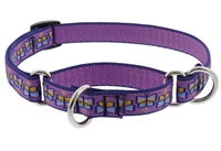 "Lupine 3/4"" Flutterby 14-20"" Martingale Training Collar"